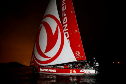 中国之队——东风队沃尔沃环球帆船赛维港夺冠